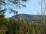 Strecke Berglauf