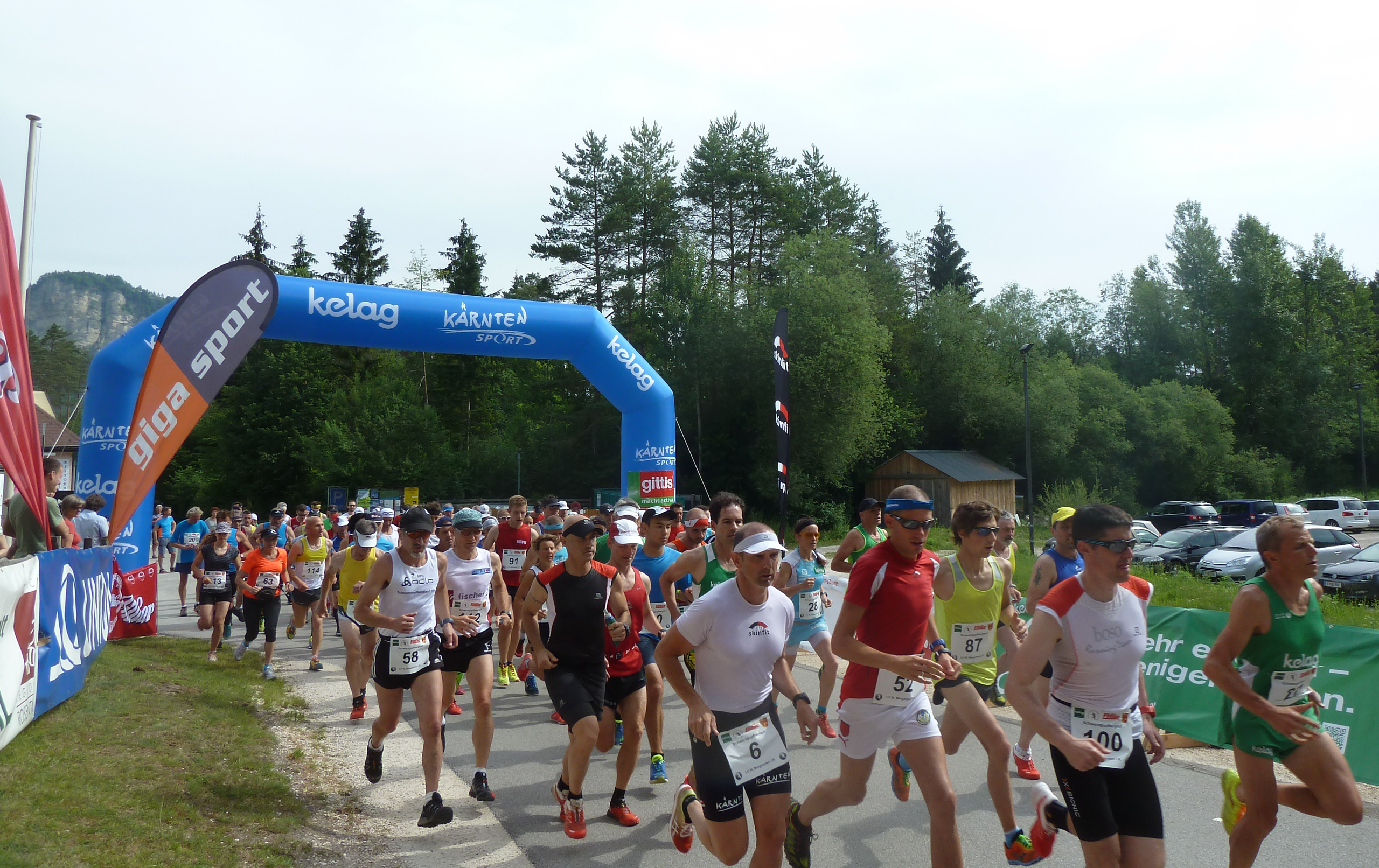Start Berglauf 2015